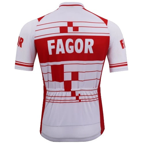 Fagor vintage cycling jersey 1985