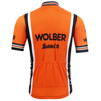 Wolber Spidel vintage cycling jersey 1982