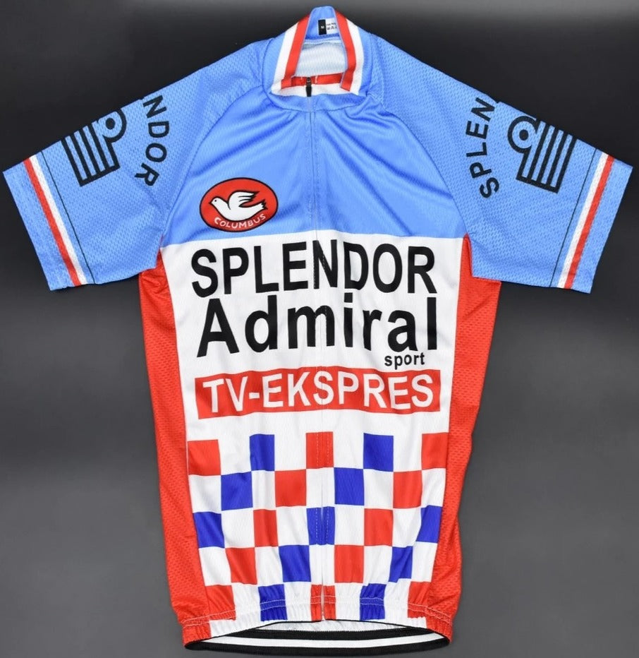Retro cycling set Splendor Admiral 1980