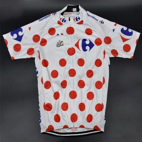 King of mountains Tour de France cycling jersey replica