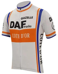 Daf Trucks- Cote d'Or vintage cycling jersey 1981