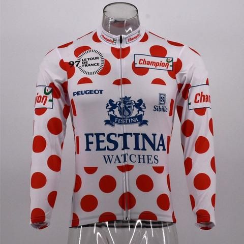 King of mountains Tour de France 97 cycling jersey