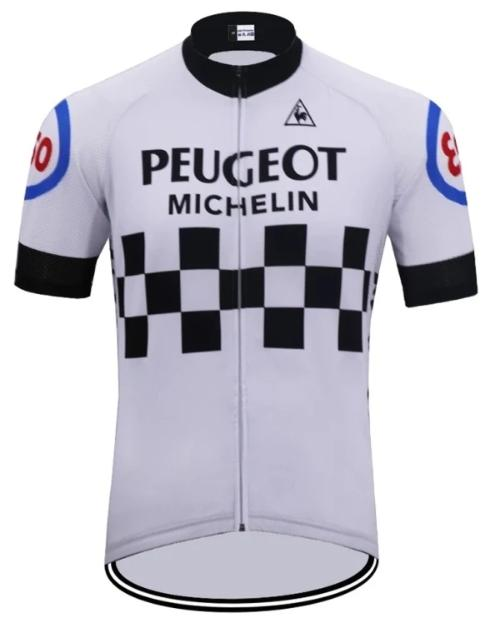 5afdedc6b Peugeot short sleeve cycling jersey replica 1981