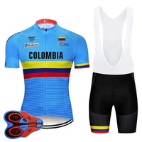 Team colombia cycling set