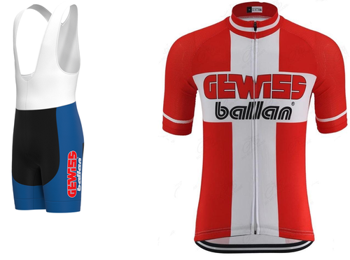 Denmark national cycling set 1995 (Jersey + bib short)