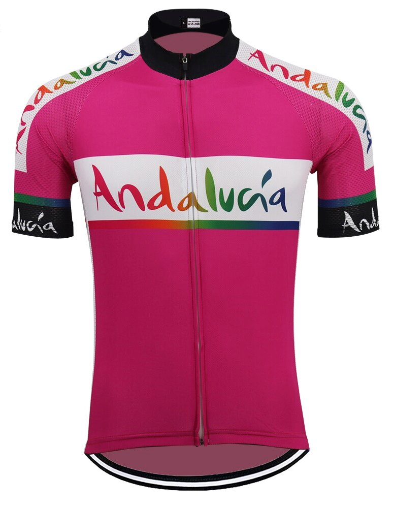 Andalucia cycling jersey 2012