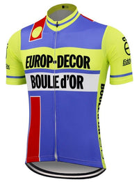 Europ Decor Boule d'Or cycling jersey 1984