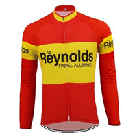 Retro cycling jersey Spain national champion 1982