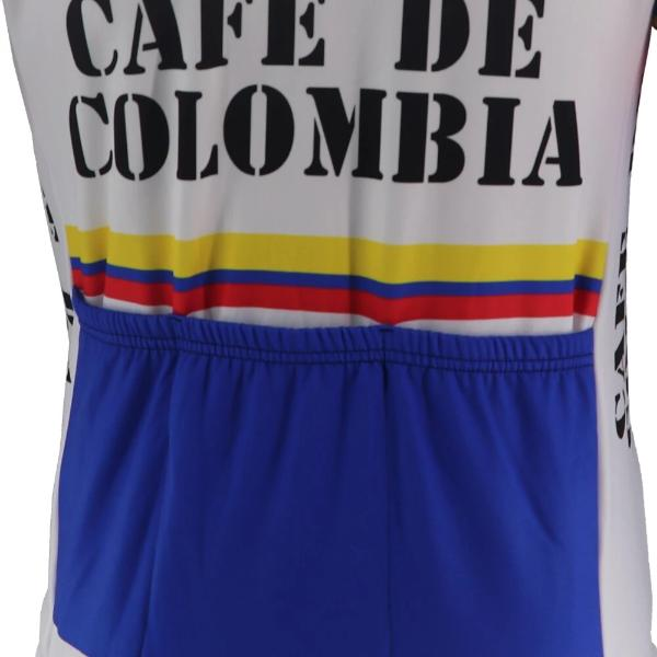 Cafe de Colombia vintage cycling jersey long sleeve
