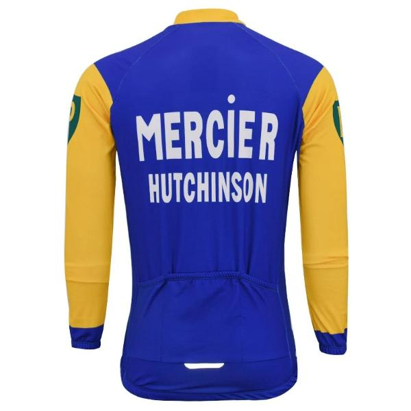 Mercier Hutchinson cycling long sleeve jersey