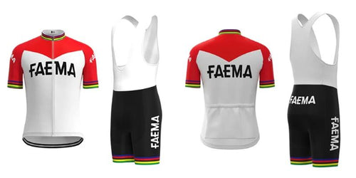 Faema vintage cycling set 1969