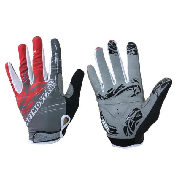 Full finger cycling gloves Gel pad