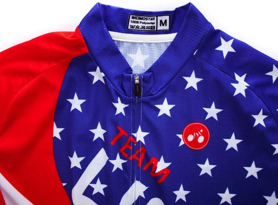 USA cycling team long sleeve jersey