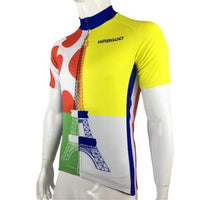 tour eiffel cycling jersey