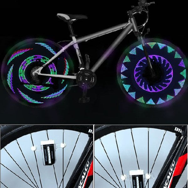 Led bike wheel Tire