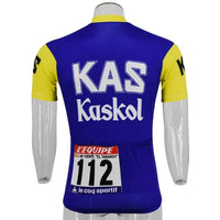Kas team cycling jersey