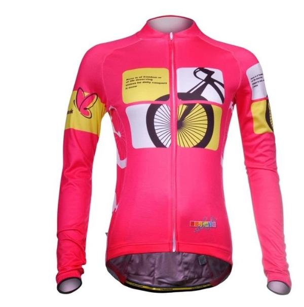 woman cycling apparel