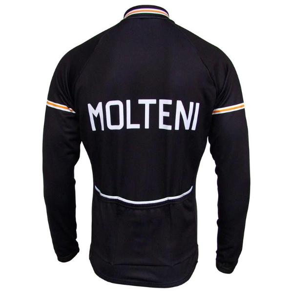 long sleeve molteni cycling jersey