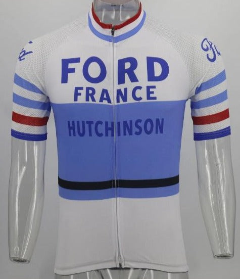 Ford France Hutchinson cycling jersey vintage