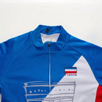 Team France cycling jersey long sleeve