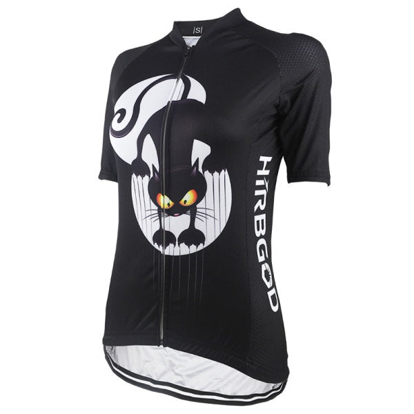 cat Lady cycling jersey
