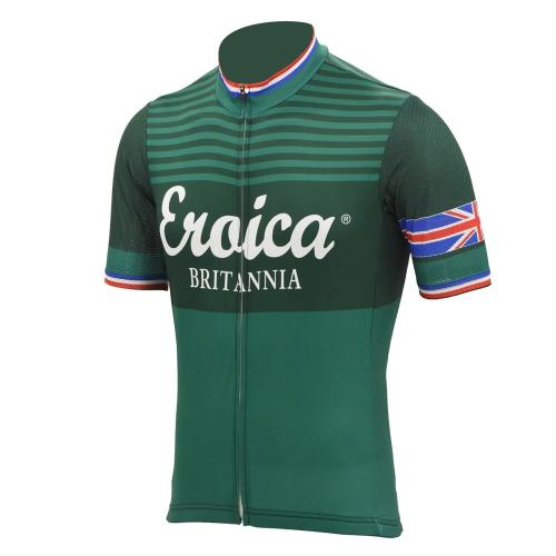Eroica vintage cycling jersey short sleeve