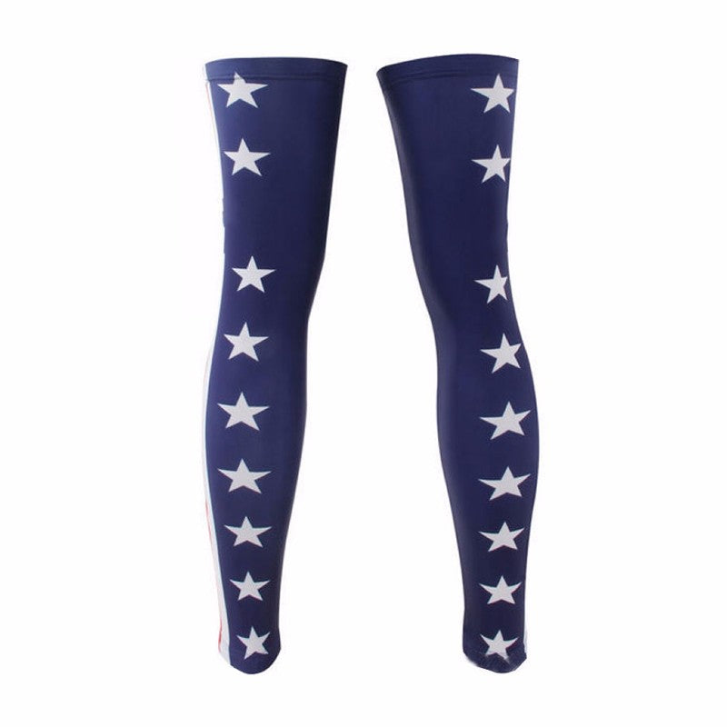 USA Leg cycling Warmers