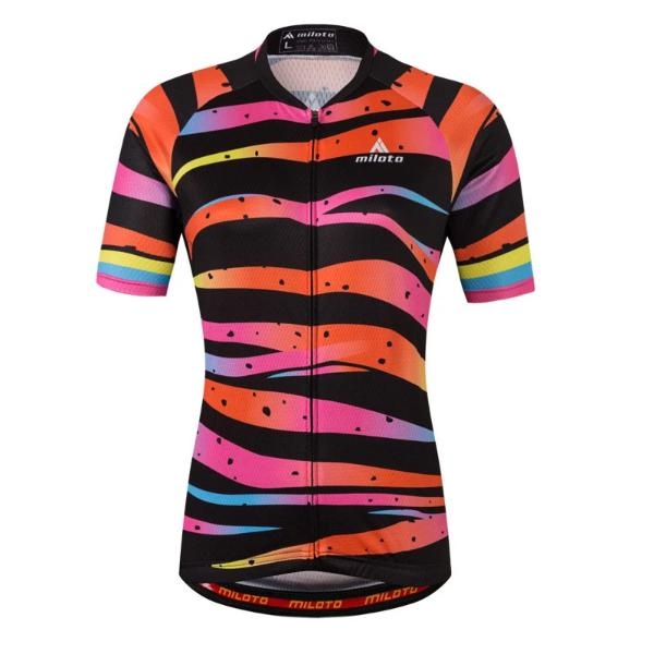 Women Miloto cycling jersey short sleeve