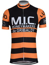 MIC- De Gribaldy cycling vintage jersey 1974