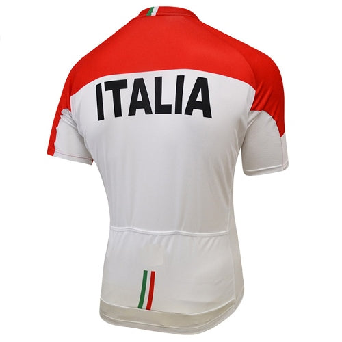 Italia national team cycling jersey short sleeve