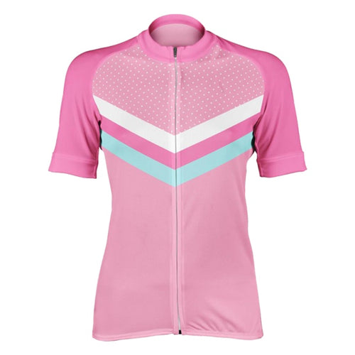 woman cycling jersey