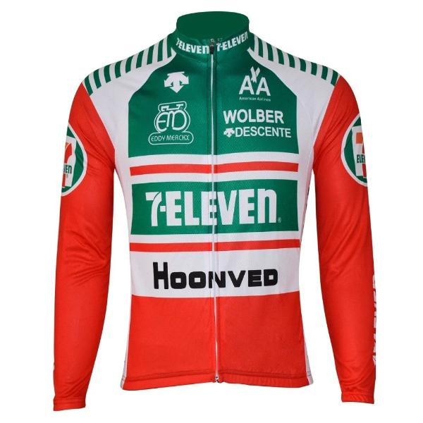 fdd5492cc Replica Seven Eleven cycling jersey long sleeve  7 eleven cycling long  sleeve jersey ...