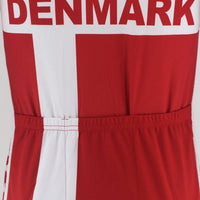 Denmark national team cycling jersey short sleeve