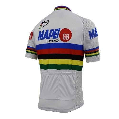 World champion retro cycling jersey Mapei 1996
