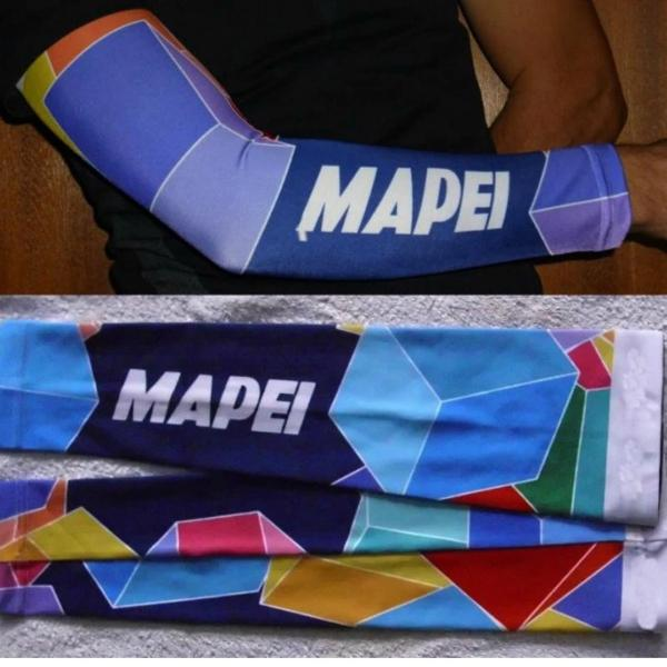 Cycling armwarmers Mapei
