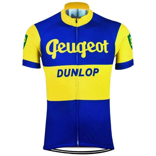 Peugeot dunlop cycling jersey