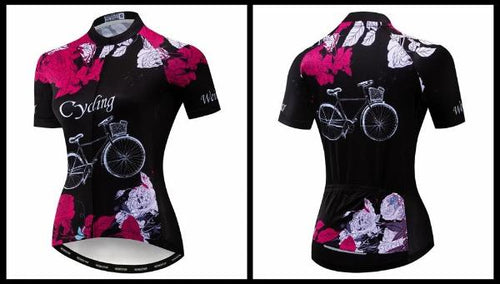 Xtex women summer cycling jersey