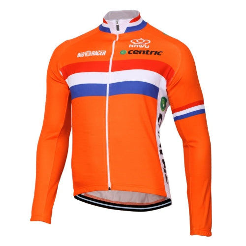 Team Netherlands thermal fleece cycling set