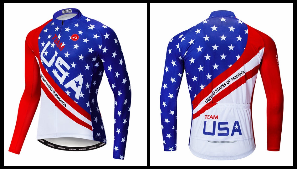 USA team cycling jersey