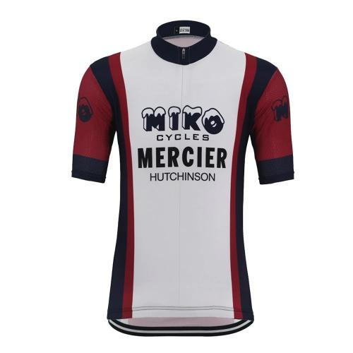Miko Mercier cycling Jersey replica short sleeve
