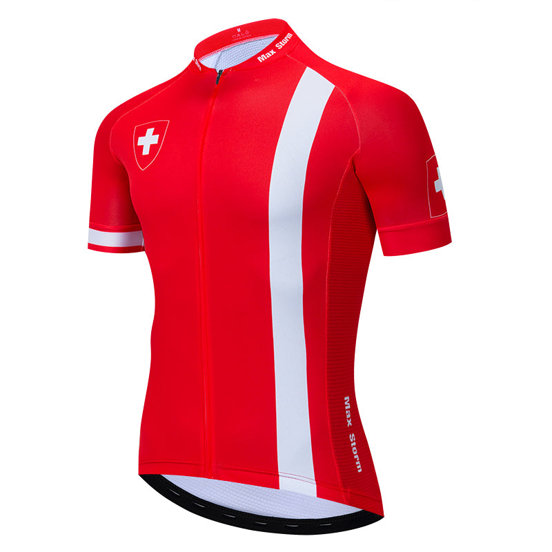 Switzerland national team cycling jersey