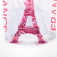 I love Paris women cycling jersey short sleeve