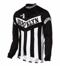 Brooklyn cycling jersey long sleeve