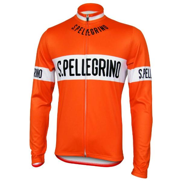 san pellegrino long sleeve cycling jersey