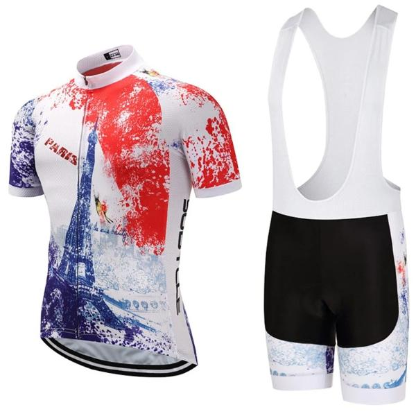 paris eiffel tower cycling set