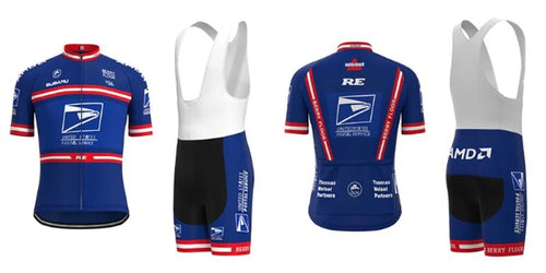 US Postal retro cycling set 2004