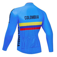 Colombia Cycling long sleeve jersey