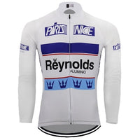 Paris-Nice 1989 retro cycling jersey long sleeve