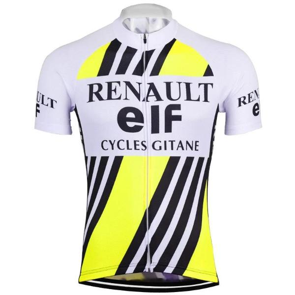 Renault vintage pro team replica cycling jersey  renault jersey ... fc35ed702