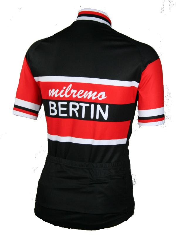 Vintage Milremo Bertin cycling jersey 70's